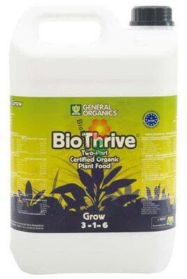 General Organics BioThrive Grow 5 l