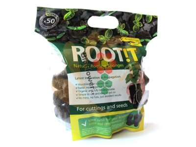 Root!t natural rooting sponges 50 ks
