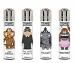 Zapalovač Clipper Classic Large CP11RH Animals 11 Monkeys