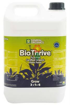 General Organics BioThrive Grow 5 l